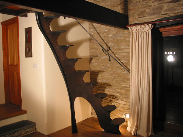 Forged Plate Staircase