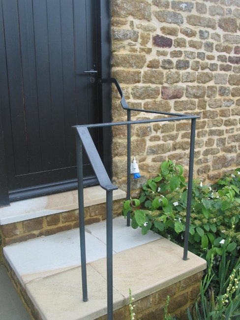 Flat Bar Handrails John Churchill