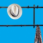 coat and hat rack