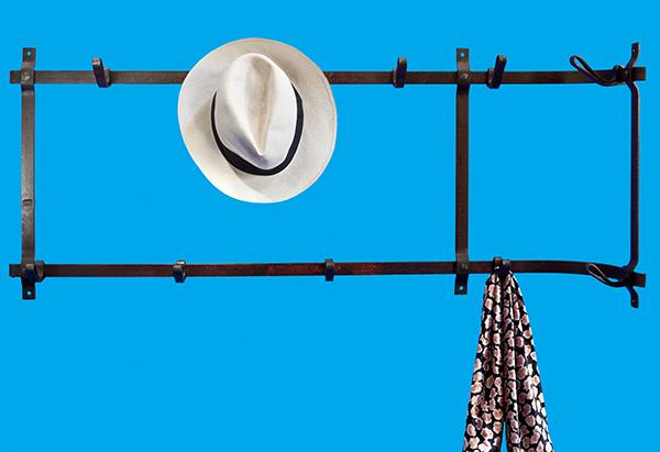 Peg rack and coat rack