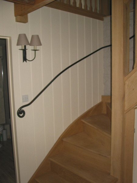Mill cottage handrails