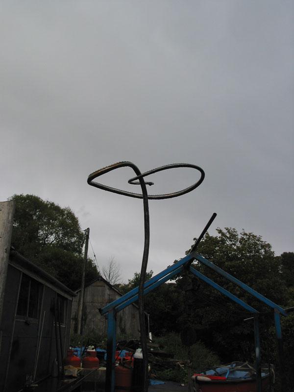 Large bird feeder. (2008)