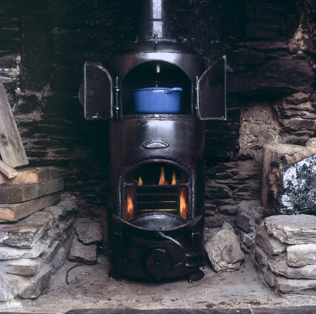 Gas Bottle Stove With Oven 1986 John Churchill
