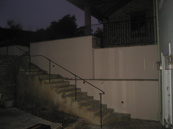Tuckenhay handrail